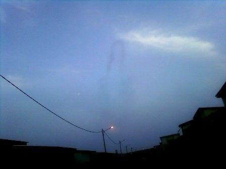 Côte d'Ivoire : La Vierge Marie apparaît dans le ciel !