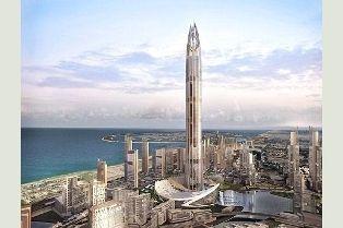Dubai la plus grande tour du monde centerblog - Projet tour la plus haute du monde ...